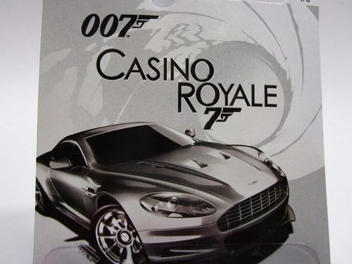 aston martin dbs james bond escala 1/64 coleccion hot wheels