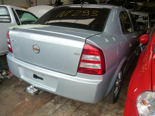 astra sedan 2.0 8v - sucata motor cambio e peças