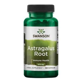 Astragalo Root 470 Mg 100 Capsulas Potente Adaptogeno