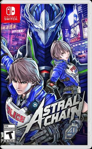 astral chain nintendo switch entrega inmediata!