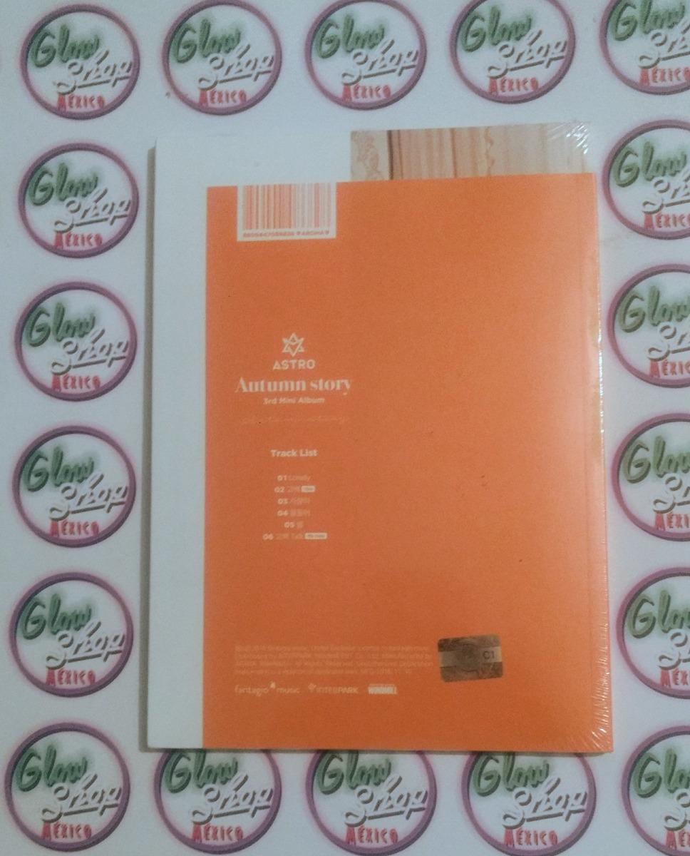 Astro - Autumn Story 3rd Mini Album Ver  Orange Kpop Album