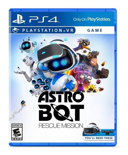 astro bot rescue mission vr - ps4 fisico nuevo & sellado