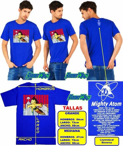 astro boy playera lenticular 3d adulto mighty atom 02 astro