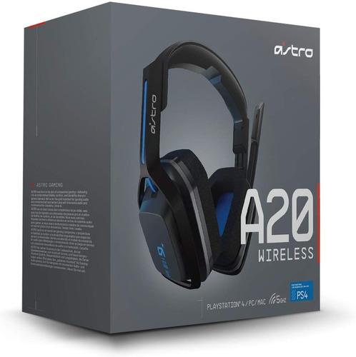 astro gaming a20 auriculares inalámbricos negro/azul - ps 4
