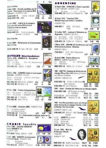 astrofilatelia catalogo estampilla lollini conquista espacio