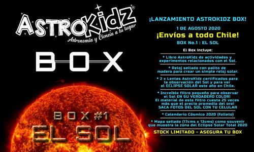astrokidz box  box#1 el sol