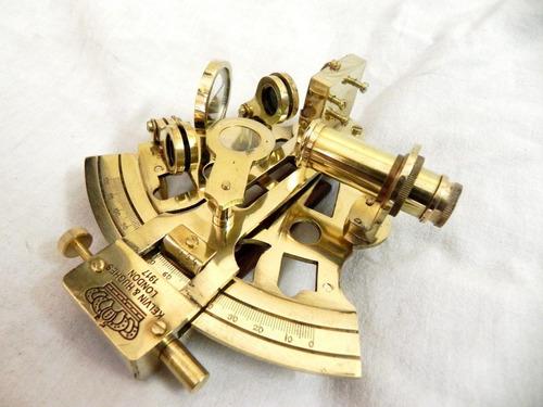 astrolabio sextante 15cm marina náutica historia barco jojon