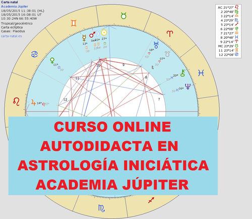 astrología: curso online autodidacta vídeos