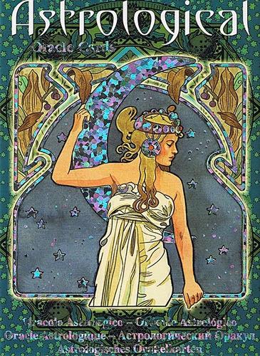 astrological oracle cards (oráculo astrologico) en ingles
