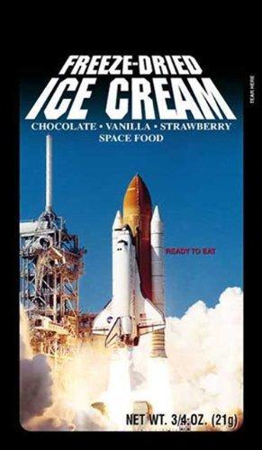 astronaut, helado seco frizado sabor neapolitan, 4 unidades