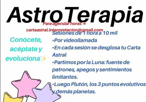 astroterapia e interpretación de carta astral