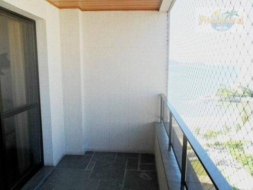 astúrias - alto padrão, vista espetacular ao mar, 2 garagens demarcadas, lazer total, prédio moderno,*venda e locação temporada* - ap2292