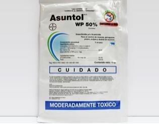 asuntol polvo sobre 15gr para baño control pulga garrapatas
