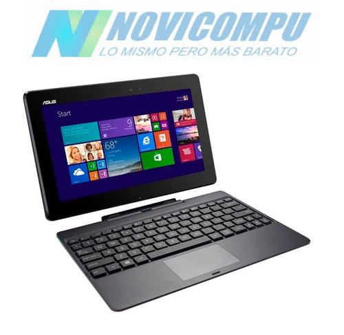 asus convertible 2 en 1 t100, 2gb, 64gb, touch+ win 8+bt
