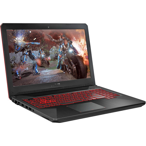 asus fx504 (2in1) i7-8750h fhd 15.6' ssd 128gb nvme ram 16gb