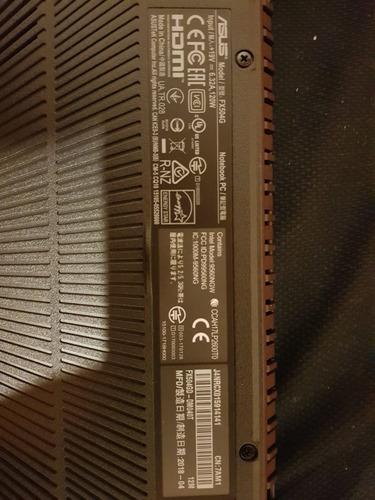 asus gamer fx504gd-dm040t 15.6  i5, 8gb, 1tb, nvidia gtx1050