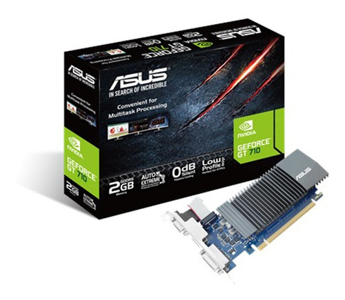 asus geforce gt710 2gb ddr5 gt 710 hdmi silent  low profile
