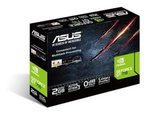 asus geforce gt710 2gb ddr5 gt 710 low profile silent hdmi