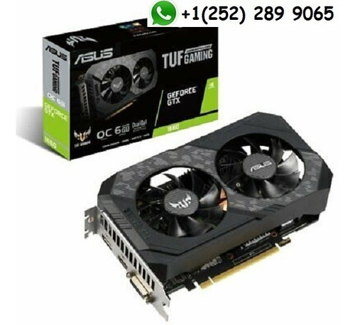 asus geforce gtx 1660 tuf gaming oc 6gb