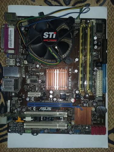 asus motherboard + processador intel + outras coisas