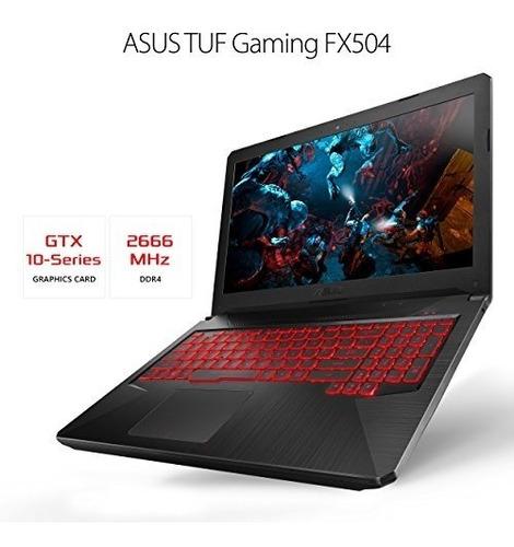 asus tuf slim y light gaming pc portatil fx504