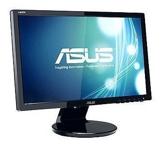 asus ve228h pantalla led de monitor de computadora con pant