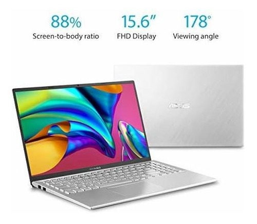 asus vivobook s15 s512 thin and light 15.6 fhd, intel core