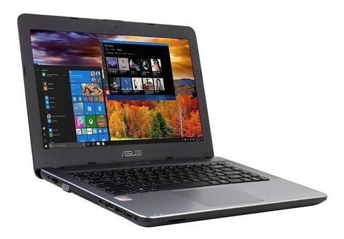 asus x441ba notebook amd a6  4gb.500gb. led 14.0 w10