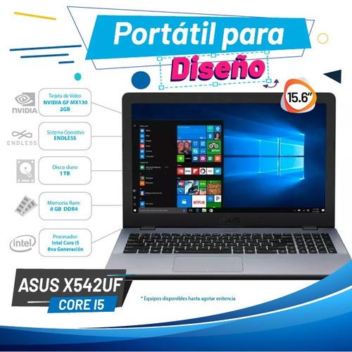 asus x542uf core i5 8 gen ram 8gb ddr4 windows 10 pro