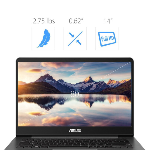 asus zenbook 14  ux430ua full-hd i7-8550u 16gb 512ssd win10