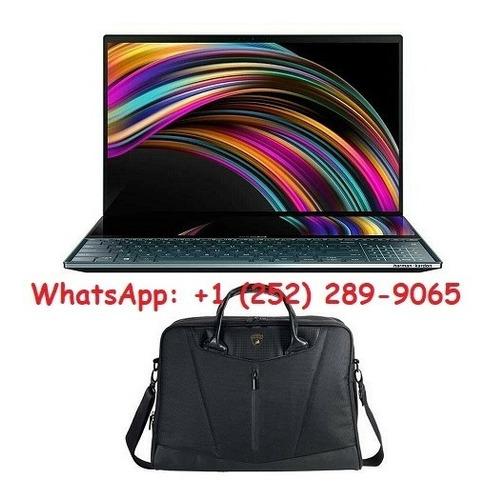 asus zenbook pro duo 4k uhd windows 10 pro + bag