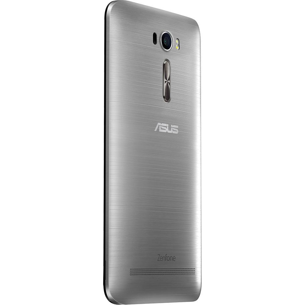 smartphone asus zenfone 2 laser 16gb prata lacrado nf r em mercado livre. Black Bedroom Furniture Sets. Home Design Ideas