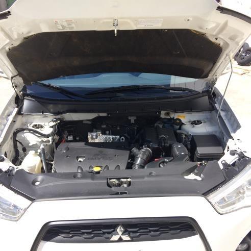 asx 2013 4x4 branca blindada armura muito nova winikar!!!!!!