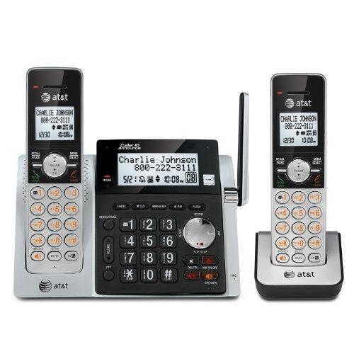 at & t dect 6.0 cl83203 teléfono inalámbrico expandible c