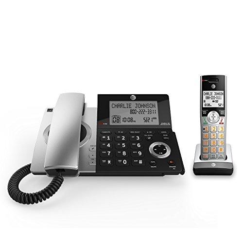 at & t dect 6.0 cl84107 teléfono con cable / inalámbrico