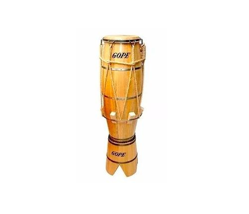 atabaque gope madeira 120cm c/ suporte 708c