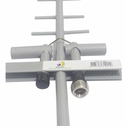 atacado 10 antena 3g celular rural 15 dbi quadriband + cabo
