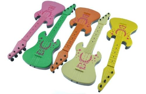 atacado 10 guitarra guitarrinha infantil brinquedo plástico