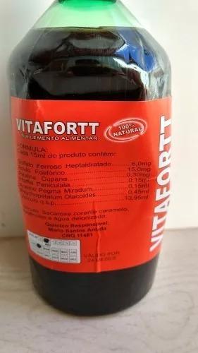 atacado 12 suplemento alimentar vitafortt - 500ml