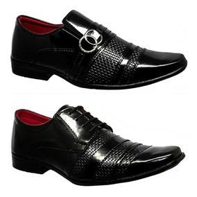 f88cf20d52 Sapatos Social Masculinos Atacado - Sapatos Sociais e Mocassins para  Masculino Sociais Preto com o Melhores Preços no Mercado Livre Brasil