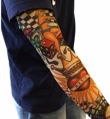 Atacado 6 pares manga tattoo manguito tattoo tatuagem - Mangas de tattoo ...