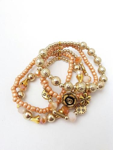 atacado bijuterias kit conjuntos 15 pulseiras + brinde