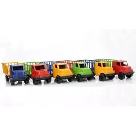 Atacado Brinquedo Barato Kit 50 Caminhão Plástico Doação Etc