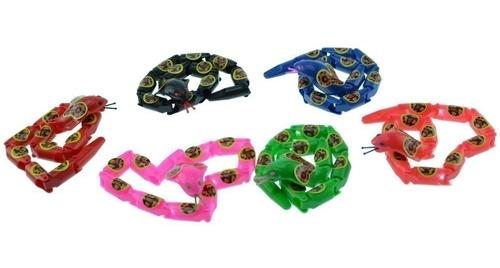 atacado brinquedo cobra articulada kit com 10 unidades