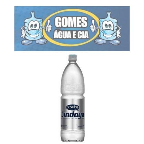 atacado c/12 agua mineral s/ gas genuina lindoya 500ml
