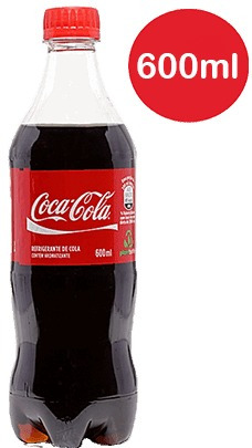 atacado c/18 refrigerante coca cola 600ml