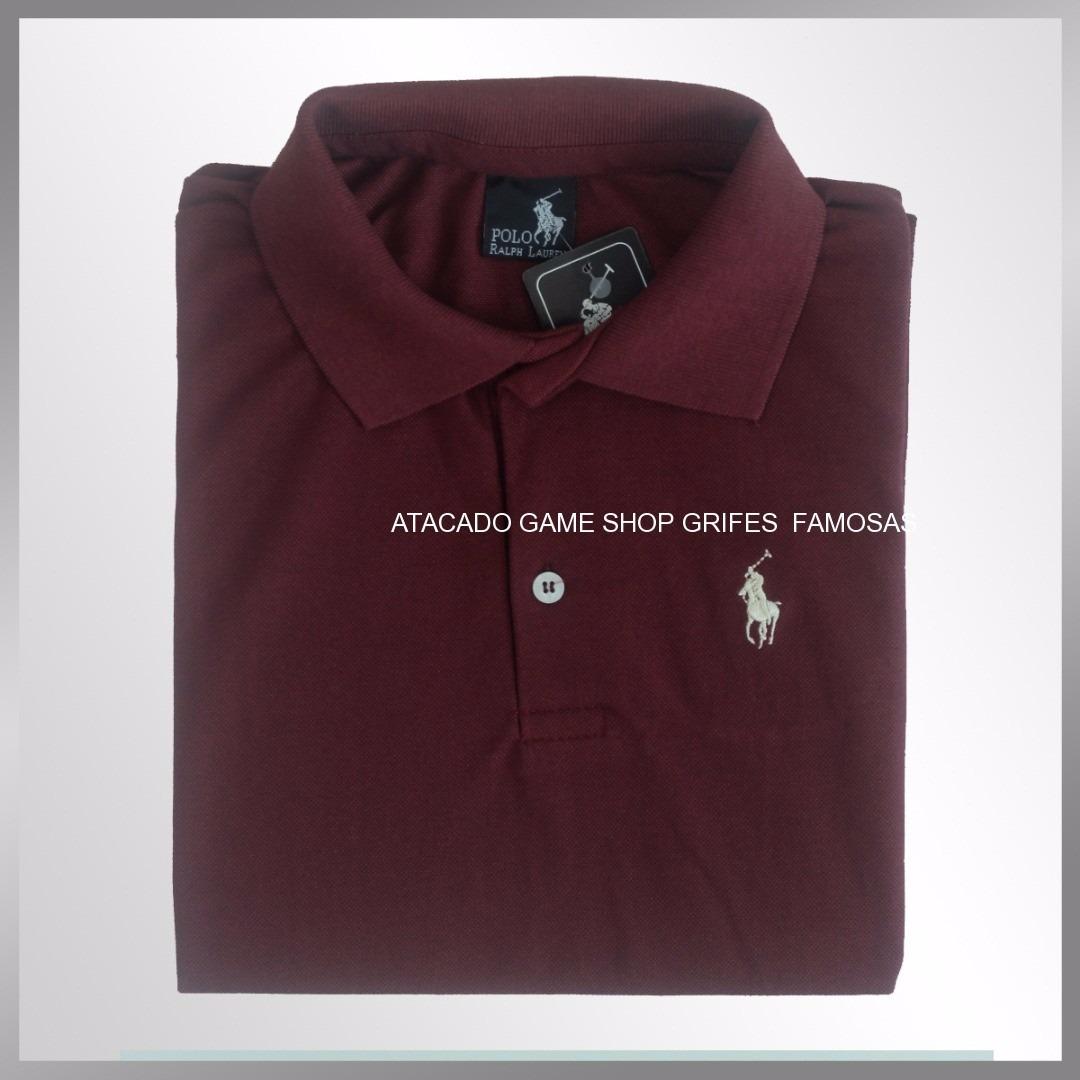 800bd85d96 R 250  atacado camisa polo masculina marca famosas para revenda. Carregando  zoom.