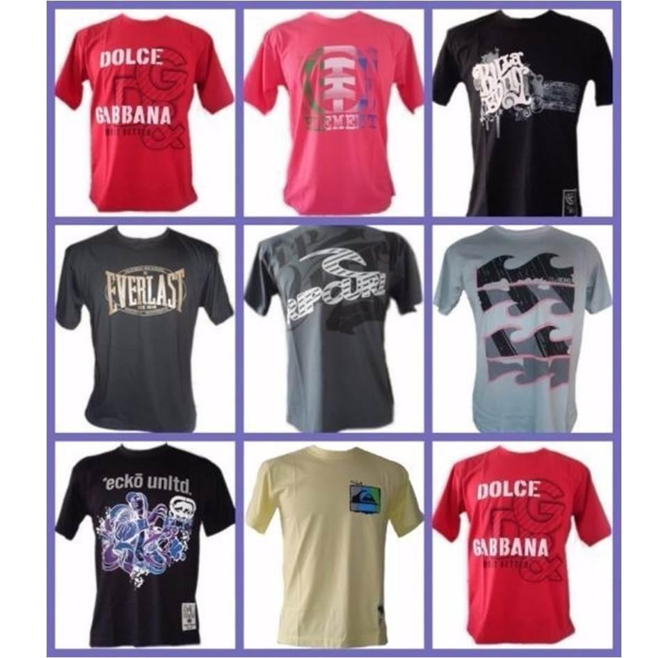 atacado de roupas de marca. kit 11 camisetas atacado revenda. Carregando  zoom. 9f0fe85e035