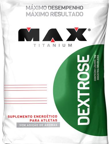 atacado dextrose 3kg max titanium - combo energia pré treino