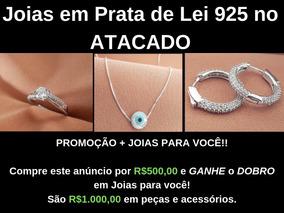 c94a8151a2 Kit Joias Prata 925 - Joias e Bijuterias no Mercado Livre Brasil